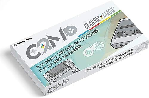 buen precio Giplar Classic 2 Magic Carros de Juego SNES Originales Funciona Funciona Funciona con Cualquier Consola SNES Mini( Almacenamiento Ilimitado de Juegos Extra a través de una o más Unidades USB )  hermoso