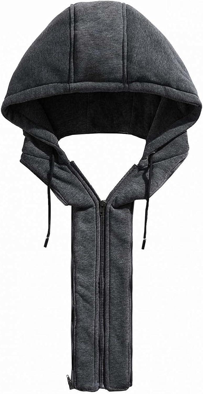 Men's Faux Leather Jackets Full Zipper Hooded Motorcycle Bomber Jacket Thicken Thermal Windbreaker Biker PU Coats