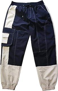 haochenli188 Monos De Hombre Pantalones Casuales Oscuros para Hombre Pantalones Harem Harajuku para Hombre Monos Masculino...