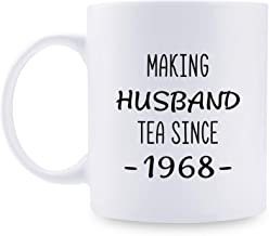 51st Anniversary Gifts - 51st Wedding Anniversary Gifts for Couple, 51 Year Anniversary Gifts 11oz Funny Coffee Mug for Husband, Hubby, Him, making husband tea