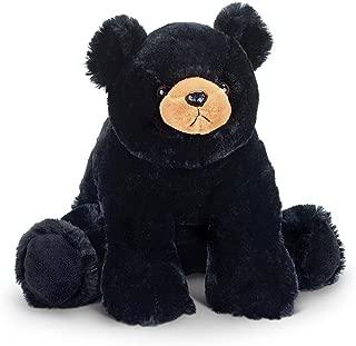 Bearington Bandit Plush Stuffed Animal Black Bear Teddy, 18