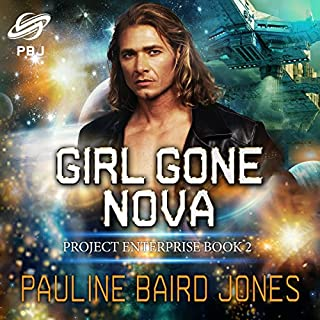 Girl Gone Nova audiobook cover art