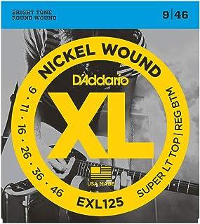 Daddario Exl125 Elektro Gitar Tel Seti, Xl, 9-46, Super Light Top/