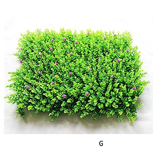 WENZHEjiahua Artificiel Lierre Plantes Feuille Vigne Suspendue Feuilles Pelouse Décoration, 7 Styles, 40 * 60cm (Couleur : G, Taille : 2 Pieces)