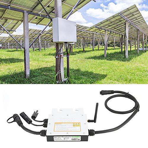 Inversor Micro Solar, Inversor de Red Solar a Prueba de Agua MPPT IP65 de 250 Vatios 18-50VDC 120/230VAC Convertidor de Microinversor Inteligente de Red Eléctrica Inversor Fuente de Alimentación(230V)