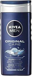 NIVEA MEN Shower Gel, Original Care Body Wash, Men, 250ml