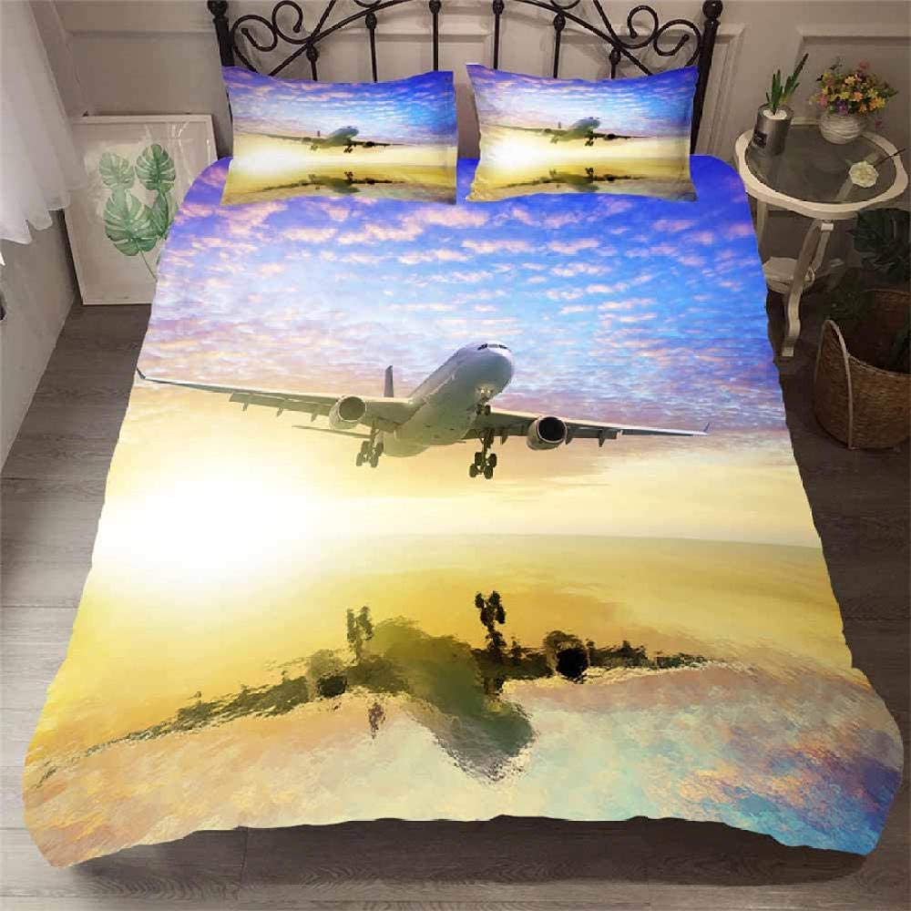 Genuine Free Shipping DAXIANGJIAO Duvet Cover Full Covers Aircraft Bedding Quantity limited Size