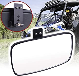 UNIGT Rear View Mirror Replacement for Polaris 2017 18 19 Ranger 500 570 900 1000 XP 4 Crew with Pro-Fit Cage with Factory Mirror Tap Ranger Center Mirror Accessories 2879969