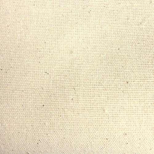 Kt KILOtela Tela de loneta Lisa - Decoración, tapizar, Cojines, Cortinas, colchas, Bolsos, manteles - Retal de 100 cm Largo x 280 cm Ancho   Natural ─ 1 Metro