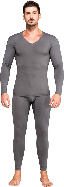 Legou Men's Long Thermal Base Layering Underwear Set