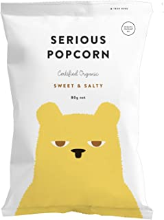 Serious Foods Popcorn - Sweet & Salty 80g (12 pack)