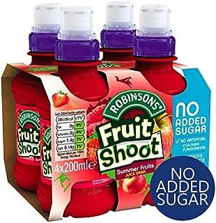 Robinsons Fruit Shoot Summer Fruits No Added Sugar - 4 x 200ml (27.05fl oz)