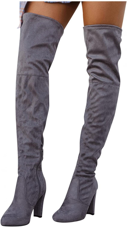 Hbeylia Thigh High Boots For Women Pump Winter Superior Dress Milwaukee Mall Chun Ladies