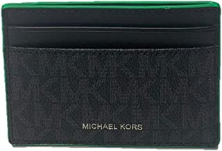 Michael Kors Gifting Card Case with ID - Black Palm