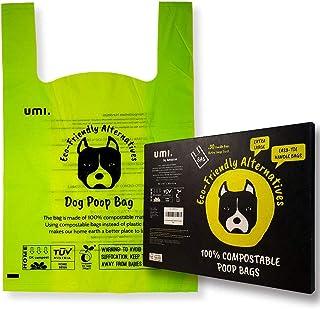 UMI. by Amazon Bolsas para Excrementos de Perro Biodegradabl