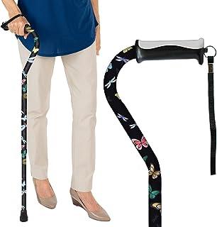 Vive Walking Cane – for Men & Women – Portable, Adjustable Offset Balance..