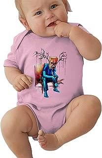 Baby Boys Girls Unisex Romper Bodysuit Alex-pardee-Monster Infant Lovely Jumpsuit Outfit 0-2T Kids