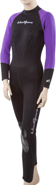 Neo Sport Wetsuits Women's Premium Neoprene 1mm Full Suit