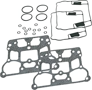 S&S Cycle Rocker Covers Gasket Kit Die-Cast 4-1/8in. Bore Compatible for Harley-Davidson Twin Cam 99-17