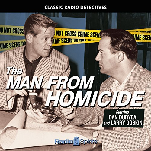 The Man from Homicide audiobook cover art