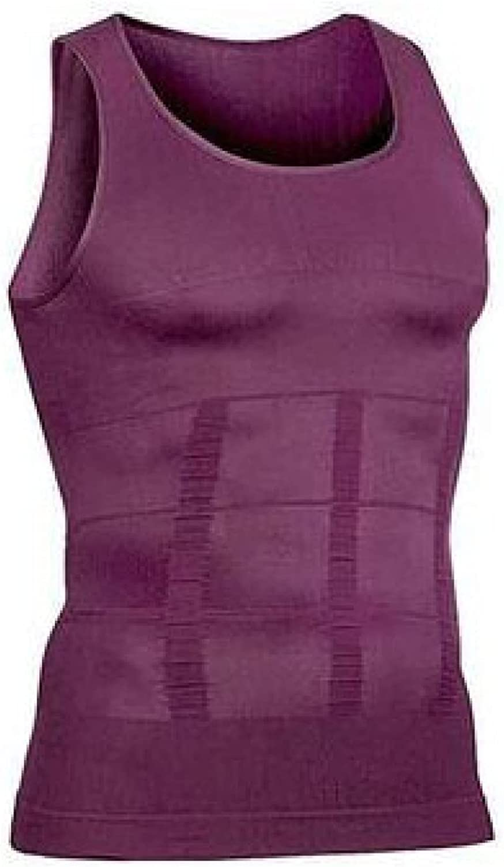ChyJoey Shapewear Top for Men - Slimming Tummy Control Compression Shirts - Fat Burner Body Shaper Shirts Underwear