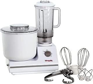 WonderMix Kitchen Mixer - German Design Bread Dough Mixer Machine - Electric Stand Mixer with Bonus Heavy Duty Blender and Attachments High Capacity Bread Mixer
