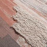 SHACOS 2er Set Teppich Baumwolle Waschbar Gewebt Teppich Vintage Grau Baumwollteppich Flur Teppich für Wohnzimmer Eingang Badezimmer 60x90cm+60x130cm - 4
