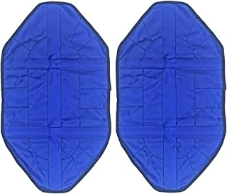 Hands Free Shoe Covers-2pcs/pair Step in Sock Cover Reusable One Step Portable Automatic Shoe Covers for Sneakers& Boots (Blue)