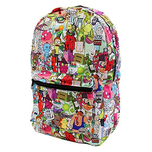 RICK AND MORTY All-Over Print Backpack Standard
