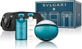 Bvlgari Aqva Ph Set (EDT, 100ml + After Shave Balm, 75ml + Shampoo Shower Gel, 75ml)
