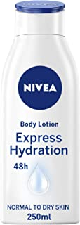 NIVEA Express Hydration Body Lotion 250 ml, Pack of 1