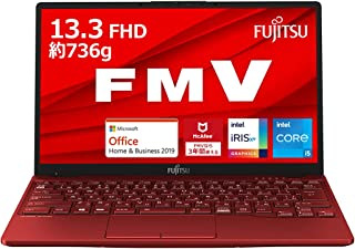 【公式】 富士通 ノートパソコン FMV LIFEBOOK UHシリーズ WU2/E3 (Windows 10 Home/13.3型ワイド液晶/Core i5/8GBメモリ/約256GB SSD/Office Home and Business...