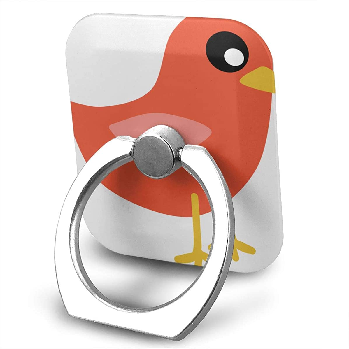 Ring Holder Bird Clip Art Cute Ring Cell Phone Stand Adjustable 360° Rotation Finger Ring Stand for IPad, Kindle, Phone X/6/6s/7/8/8 Plus/7, Divi, Accessories Desk, Android Smartphone