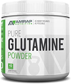 Sponsored Ad - AMRAP Nutrition Vegan Glutamine Powder, 200g, High Quality, WADA Compliant, Athlete Approved (40 Servings)