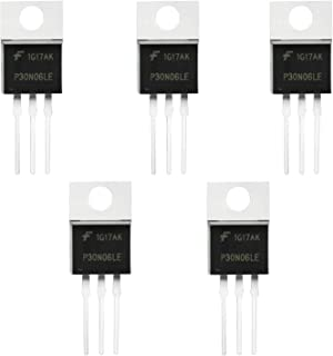 Gikfun Packing RFP30N06LE 30A 60V N-Channel Mosfet TO-220 ESD Rated for Arduino (Pack of 5pcs) EK1658