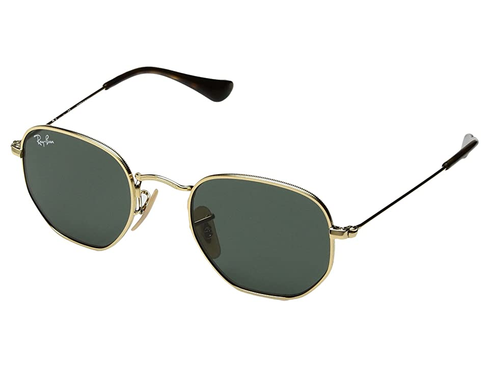Ray-Ban Junior RJ9541SN 44 mm (Youth) (Gold/Green Classic) Fashion Sunglasses