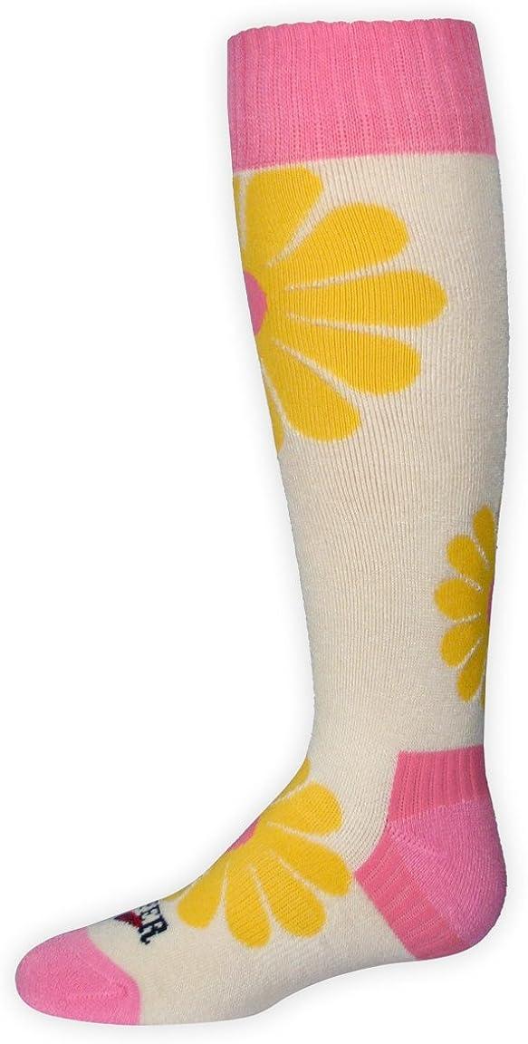 Hot Chillys Girl's Groovy Medium Cushion Sock