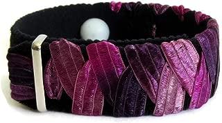 Anxiety Relief Bracelet, Purple Bracelet, Stress Relief Bracelet, Anxiety Band, Anxiety Gifts, Stress Gift, Relaxation Bracelet (one Bracelet) Purplicious (Large 8