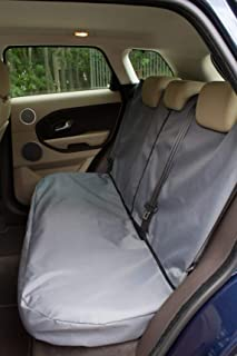 Titan Waterproof Car Front Seat Covers to fit Toyota Yaris 1999 Grey Onwards