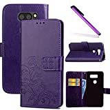 COTDINFOR LG V30 Case Wallet Bookstyle Pu Leather Flip
