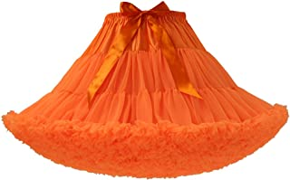 Joygown A-line Layers Tulle Tutu Skirt Fluffy Princess Party Prom Underskirt