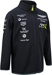 Aston Martin Racing New! 2018 Childrens Softshell Jacket Kids Junior Age 3-14yrs