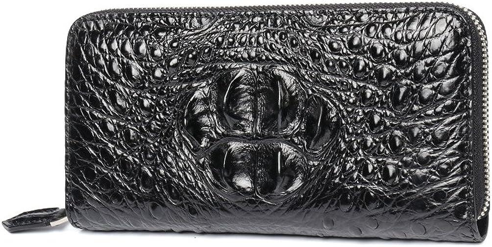 Crocodile Philadelphia Mall Max 82% OFF leather clutch Skin Wallet Leather