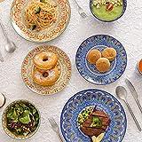 Vancasso Tafelservice Porzellan, Mandala 32 teiliges Essgeschirr Kombiservice, handbemaltes Geschirrset für 8 Personen, böhmischer Stil - 3