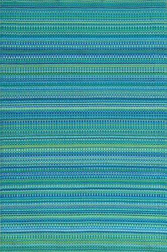 Mad Mats Mixed Indoor/Outdoor Floor Mat, 6 x 9 Feet, Tropical