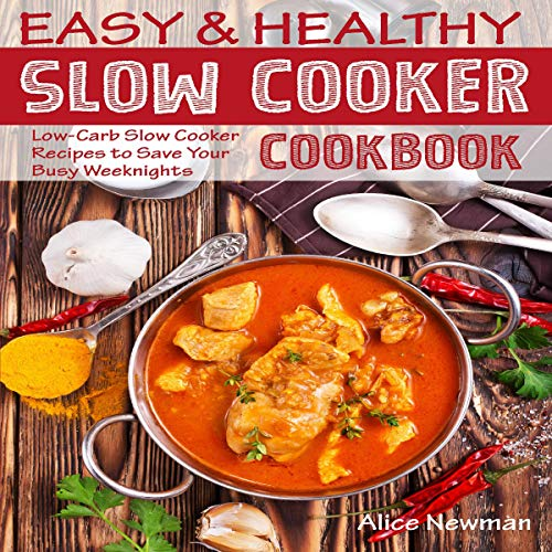 Easy and Healthy Slow Cooker Cookbook Titelbild