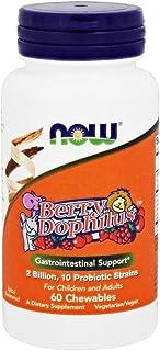 Now Foods BerryDophilus- 60 Chewables 8 Pack