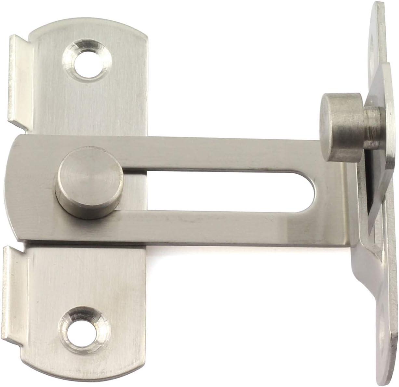 Door Bolt Latch Home Sliding Guard Gate Lock Security Catch Office Safe Secure