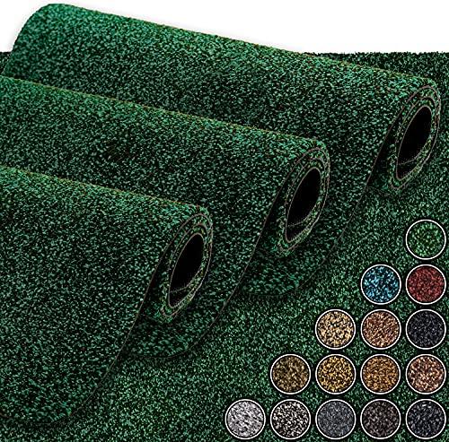 GadHome wasserabsorbierende Fußmatte, Türkis / Royal 40 cm x 60 cm | Fußmatte für innen und außen | rutschfeste, waschbare, schnell trocknende Haustürmatte aus weicher Baumwolle