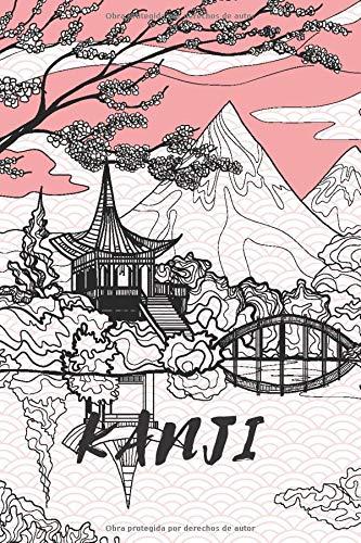 Kanji: Cuaderno de Escritura Japonesa Libreta con papel cuadricula de papel genkoyoshi con rayado tradicional para escribir caracteres japoneses kanji ... japones I 120 pag tam de bolsillo 15 x 22 cm
